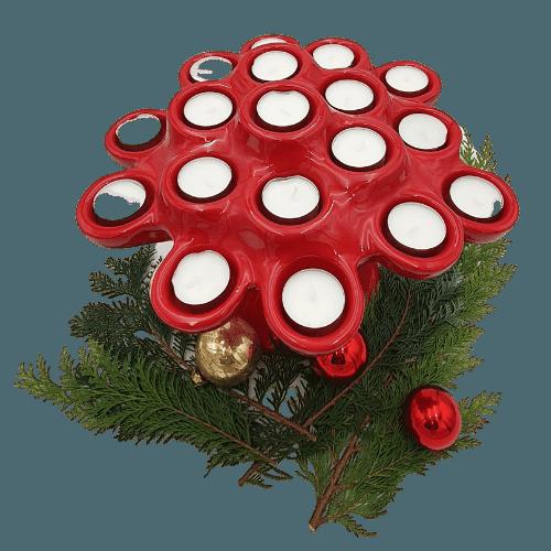 Lichterbaum rot
